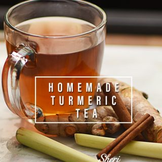 Homemade Turmeric Cinnamon Lemongrass Tea