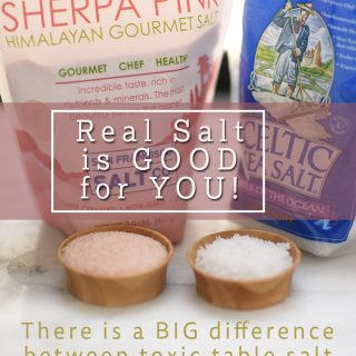 The lowdown on Iodized Table Salt & Celtic Sea Salt/Himalayan Pink Salt