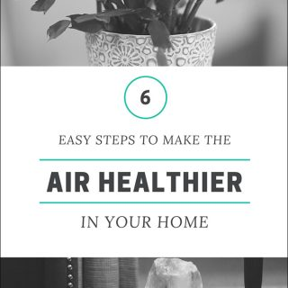 6 EASY Steps to Make the AIR Healthier in Your Home