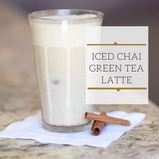 Iced Green Tea Chai Latte