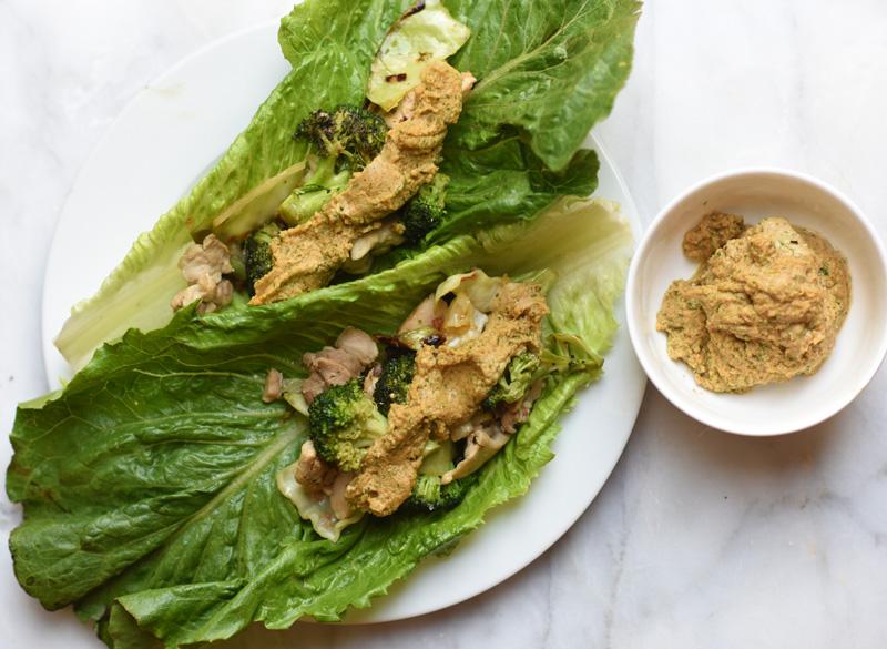 thai-chicken-wraps-sheri-glows-2