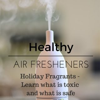 Healthy way to infuse holiday aroma in your home instead of toxic air fresheners