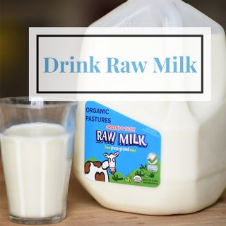 Raw Milk is Delicious and Loaded with Easy to Digest Nutrients
