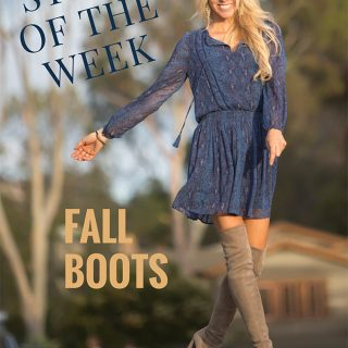 Style of the Week – Fall Boots