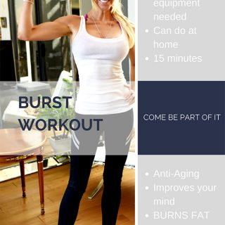 15 Minute Burst Workouts – Burn Fat for 36 Hours